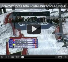 SBX La Molina WC 2009 :: Small Finals