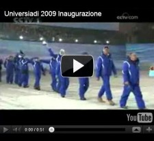 Universiadi 2009:: Inaugurazione